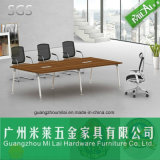 형식 간단한 사무실 회의 책상 사무용 가구 다리