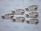 Ambientadores de aire de papel colgantes baratos para el coche (YH-AF028)