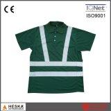 T-shirt 100% neuf d'homme vert de Poloyester de force de type salut