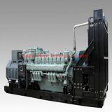 MTU 1350kw, 1450kw, 1650kw, 1800kw, 2000kw, 2200kw, 2400kw potência Diesel Genset/jogo de gerador