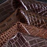 2016 het Krokodil In reliëf gemaakte Leer Van uitstekende kwaliteit van het Meubilair