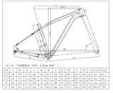 frame cheio da bicicleta de montanha da fibra do carbono do frame de 29er MTB