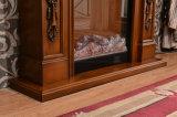 簡単なヨーロッパの切り分けるLEDはつける暖房の電気暖炉(322)を