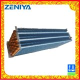 空気単位のための低雑音のステンレス鋼の管のひれのタイプ熱交換器
