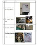 Tipo sola prensa del pórtico de potencia inestable 300 toneladas con el inversor de la frecuencia del delta de Taiwán, protector hidráulico de la sobrecarga de Japón Showa