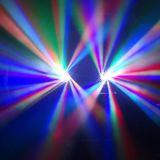 가장 새로운 디스코 12PCS 축구 단계 광속 LED 이동하는 헤드 DJ는 점화한다