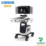 Ультразвук Chison Qbit5 Doppler цвета вагонетки 4D стационара медицинский