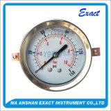 Type mesure d'entrée de Manomètre-En arrière d'acier inoxydable de pression d'huile de Mesurer-U-Bride de pression