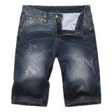 Оптовые джинсыы краткости хлопка джинсовой ткани краткостей джинсыов людей