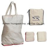 Подгонянный способом Eco-Friendly многоразовый белый органический мешок Tote 38X42cm покупкы хлопка