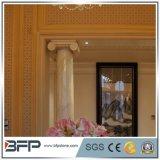 Coluna romana européia da coluna romana de mármore das colunas da pedra da coluna de Roma