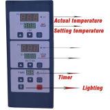 Solo horno de gas de la cubierta/tres bandejas con el indicador digital del control mecánico