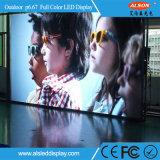 Openlucht Waterdichte HD Volledige LEIDENE van de Huur van de Kleur P6.67 VideoMuur
