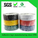 La cinta eléctrica del PVC del pegamento para el aislante protege