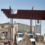 معدن محطّة بنزين أراق بناية مع خصوم كبيرة