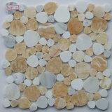 Mosaïque de marbre de caillou