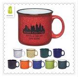 Tasse de café en céramique de publicité colorée de grès