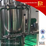Planta do tratamento da água do ozônio
