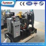 30kVA는 Weifang 4 실린더 디젤 엔진을%s 가진 전기 시작 디젤 엔진 발전기를 연다
