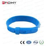 Bracelet stable et long d'IDENTIFICATION RF de fréquence ultra-haute de distance du relevé