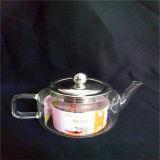 Hoher freier handgemachter Borosilicat-Glas Infuser Tee-Potenziometer 010