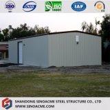 La première classe a qualifié l'entrepôt structural en acier/mémoire jetés/construction