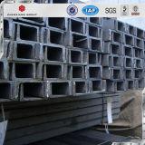 Ss400 Q235 warm gewalzter Kanal-Stahl für Gebäude