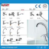 Горячей Faucet тазика одиночной ручки сбывания установленный палубой латунный (H11-101)