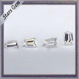 백색 6*4mm 테이퍼 탄알 커트 Moissanite 명확한 다이아몬드