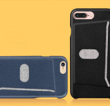 Apple iPhone 7을%s 미끄러진 카드 홀더 이동할 수 있는 셀룰라 전화 상자