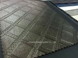 Het metaal Kunstleder van pvc van de Oppervlakte voor Bank/Meubilair/Zakken/de Binnenhuisarchitectuur van de Auto