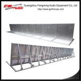 La bonne barrière de modèle de barrière portative de foule pour l'assistance de concert se protègent