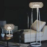 아크릴 철 책상 빛 현대 수정같은 테이블 램프를 점화하는 특별한 LED