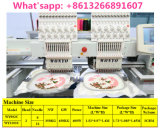 Wonyo doppelte Hauptstickerei-Maschine Compterized 9/12 Nadel-Stickerei-Maschine für Schutzkappen-Shirt-Tuch-Firmenzeichen-Stickerei