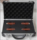 Kundenspezifisches Aluminium trägt Kasten, harten EVA-Schaumgummi-Aluminium-Kasten