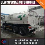 camion de nettoyeur de balayeuse de camion de rondelle de pression de 14m3 15m3 16m3 6X4