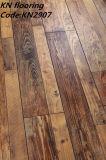 Schwarzer Farbanstrich V-Nut Laminat-Fußboden