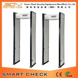Single Zone Super Scanner Detector de metales Full Body Scanner