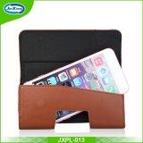 Горячие продавая Flip мобильного телефона клетки PU случаи кожи случая кожи типа бумажника телефона кожаный всеобщие франтовские с зажимом пояса