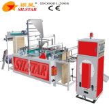 Gbdr-600 automática de doble basura plegable de la máquina de fabricación de bolsas