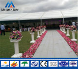 Tienda calificada al aire libre de la exposición del diseñador para la boda