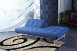 Tela simples base dobrada do sofá com espaldar ajustável
