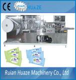 Feito no tecido de China/na máquina embalagem molhados dos Wipes