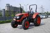 De nieuwe 55HP Vierwielige DrijfTractor van het Wiel met het Type van Kubota van de Dieselmotor (OX554)