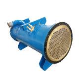 Condensatore di coperture raffreddato ad acqua e di tubo del mare