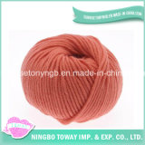 Atacado Fornecedores cusotm lã penteada Chunky baratos Knitting Yarn