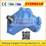 Tipo caja de engranajes horizontal de la alta calidad del fabricante de China del eje de la serie de F