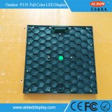 Schermo di visualizzazione curvo esterno del LED di colore completo P3.91 per l'affitto della fase