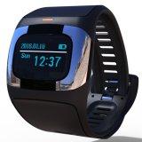 Het gezonde Slimme Horloge van de Zorg met de Vertoning & Dubbele Banden Bluetooth van de Aanraking van 1.54 Duim & IP54 Waterdicht