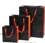 Sacs à provisions de papier traités Twisted réutilisés